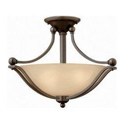 Hinkley Lighting - Hinkley Lighting 4651OB Bolla Olde Bronze Semi-Flush Mount - Hinkley Lighting 4651OB Bolla Olde Bronze Semi-Flush Mount