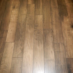 """Material Close Ups - HGTV Home Ansely Park color Eiffel Maple 5"""" width Laminate Floor by Shaw.  Photo by Carpet Spectrum Inc."""