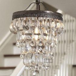 North Crystal Water Drop Pendant Lighting -