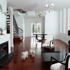 Contemporary Living Room by French Interior Design Studio