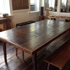 Contemporary Dining Tables by Reclaimed DesignWorks
