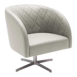 Boulevard Swivel Armchair
