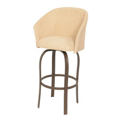 Trica - Trica Gelato Swivel Bar Stool - *Available in counter, bar or spectator height