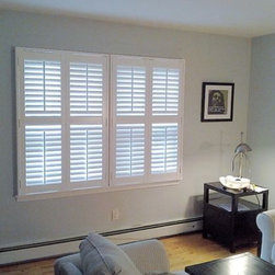 LI's Shutter Specialists to the Rescue! - Hunter Douglas Shutters that we installed in a Bayville Home on Long Island.
