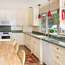 Traditional Kitchen by San Luis Marble