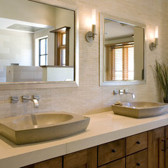 contemporary bathroom by Concreteworks