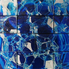 Modern Tile by Studio L. Glassworks