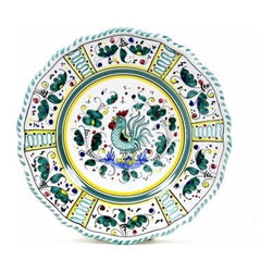 Artistica - Hand Made in Italy - Orvieto: Salad Plate - Orvieto Collection: This is a very old and traditional pattern that originated during the Renaissance in the hill-top town of Orvieto - Italy.