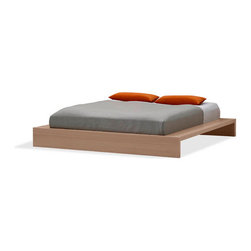 Limo Platform Bed - The Limo Platform bed is a modern Dutch design platform bed that adds a simple, yet sophisticated look to your bedroom. Beautiful composite wood and wood veneer construction.