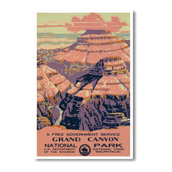 PosterEnvy - Grand Canyon - National Park - NEW World Travel Poster - Grand Canyon - National Park - NEW World Travel Poster