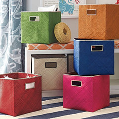 contemporary storage boxes by Serena & Lily