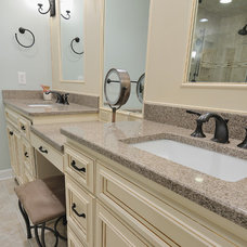 Vanity Tops And Side Splashes by CR Home Design K&B (Construction Resources)