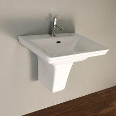 Modern Bathroom Sinks by LACAVA
