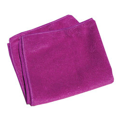 e-cloth - e-cloth General Purpose Cloth, Violet - The original e-Cloth General Purpose Cloth has received a facelift and is now available in five attractive colors: blue, yellow, green, coral, and violet. Like the original e-Cloth, the colored general-purpose cloths measure 12.5 inches by 12.5 inches in size.