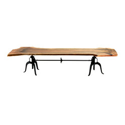 Mendocino Live Edge Communal Dining Table