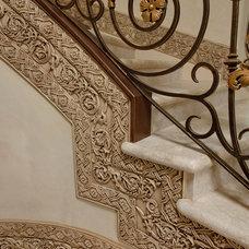 Gilded Iron with Glazed Molding