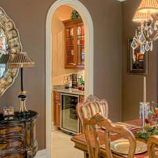 Traditional Dining Room by Summit Signature Homes, Inc.