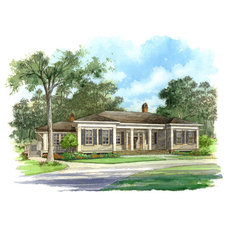 Classic Revival House - | Southern Living House Plans