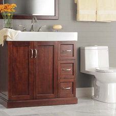 traditional bathroom vanities and sink consoles Stanton Bath Vanity by Foremost