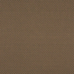 Brown Two Toned Dots Upholstery Fabric By The Yard - P6011 is great for residential, and commercial applications. This fabric will exceed at least 35,000 double rubs (15,000 is considered heavy duty), and is easy to clean and maintain.