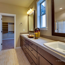 Transitional Bathroom by Marnella Homes