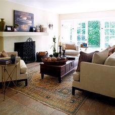 Mediterranean Living Room by Kishani Perera Inc.