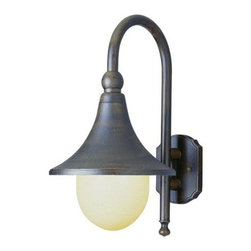 Trans Globe Lighting - Trans Globe Lighting 4775 Single Light Down Lighting Outdoor Wall Sconce from th - Single light down lighting outdoor wall sconce featuring opal polycarbonate glassRequires 1 100w Medium Base Bulb (Not Included)