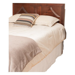 Great Deal Furniture - Benjamin Parish Queen Sized Red Mahogany Headboard - Dress up your bedroom with this elegantly designed headboard. The Benjamin Parish headboard design is colonial inspired, and can attach to almost any queen metal frame bed, as well as adjust according to the height of your mattress.