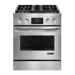 "Jenn-Air 30"" Pro-Style™ Stainless Dual-Fuel Range w/ Convection : Sears Outlet - Achieve outstanding results - The Dual-Fan MultiMode® True Convection System features two fans that generate an even flow of heated air throughout the oven cavity for even cooking with six different convection cooking modes"