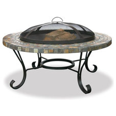 Contemporary Fire Pits by Brookstone