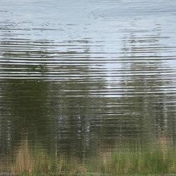"Avalon Nature Photography - WATER REFLECTION II: Photography on Canvas, 30"" X 24"" X 1.5"" - WATER REFLECTION II. Modern Fine Art Photography"
