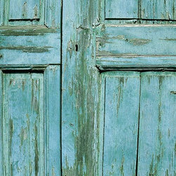 Magic Murals - Old Wooden Door Detail Wallpaper Wall Mural - Self-Adhesive - Multiple Sizes - M - Old Wooden Door Detail Wall Mural
