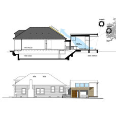 Traditional Exterior Elevation by Paul Welschmeyer ARCHITECTS & energy consultants
