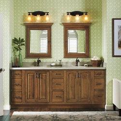 Shop beach style bathroom storage vanities on houzz for Omega bathroom vanity cabinet