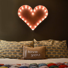 Eclectic Lighting by Vintage Marquee