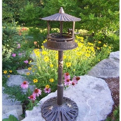 Oakland Living Romance Bird House - Additional FeaturesSome assembly requiredLimited 1-year warranty
