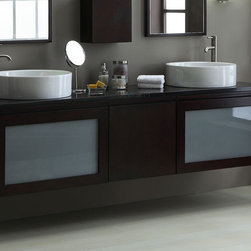 Bathroom Vanities Sets - Bathroom Vanities Sets can be classified into three main types, modular bathroom vanities, stand-alone and trim bathroom furniture types. The differences between these Bathroom Vanities sets story in the way they recount with other pieces. The modular cabinet's category refers to bath furniture with horizontal ends. These are the Vanities sets used in a bathroom design where all the bath furniture is lined up along one wall with some space in between. Trim Bathroom Vanities Sets are similar, but this category runs from wall to wall without any holes in between. It aspects great in a great bathroom but it would only serve to make a minor bathroom expression even smaller. The stand-alone Bathroom Vanities Sets as its name suggests, strands alone in the bathroom. The Bathroom Vanities Set is a textbook example. Stand-alone bathroom vanity cabinets can be used in any kind of bathroom, bulky or slight.