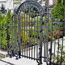Asian  Luxury Custom Wrought Iron Gates