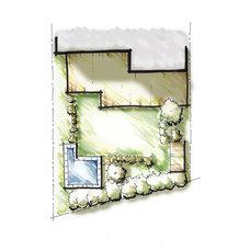 Site And Landscape Plan by Alex Jewett: Godden Sudik Architects