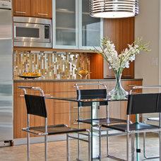 Contemporary Kitchen by Robert Legere Design