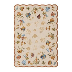 Couristan 2133 Outdoor Escape Coral Dive Indoor / Outdoor Rug - About Couristan RugsThe renowned Couristan Rug Company is headquartered in Fort Lee, New Jersey. The company continues to take great pride in its 78 year-old commitment to excellence by weaving four key components - Trust, Style, Quality and Innovation into each and every product it imports or manufactures. This commitment has earned the company a long-standing and successful position in the floor covering industry while providing its customers with the highest levels of design, value and customer service.