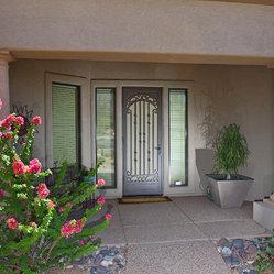 Security screen doors mike bieke for Bella retractable screen door