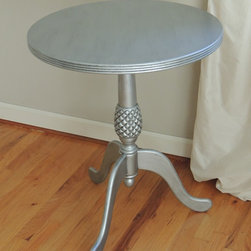 Vintage Silver Table -