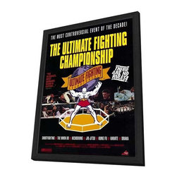 Ultimate Fighting Championships 27 x 40 Movie Poster - Style A - in Deluxe Wood - Ultimate Fighting Championships 27 x 40 Movie Poster - Style A - in Deluxe Wood Frame.  Amazing movie poster, comes ready to hang, 27 x 40 inches poster size, and 29 x 42 inches in total size framed. Cast: N/A