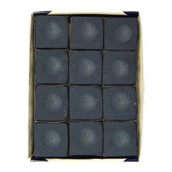 Sterling Gaming - 12 Pc Silver Cup Pool Table Chalk Set in Navy - Includes 12-pieces of cup chalk. Chalks matching cloth colors. Made in Macon, GeorgiaSilver Cup Chalk is, in our opinion, the best chalk on the market today. Although not as popular as Master, it is only a matter of time before people realize they can get a better chalk for less money! Made by some of the finest people you will ever meet. We suggest matching your chalk color to your cloth color to keep it looking cleaner longer.