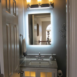 """Lighted Mirrors for every Bath 24"""" wide x 32"""" tall MAM92432 -"""