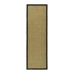 Safavieh - Safavieh Natural Fiber Casual Rug X-82-C511FN - Hand-woven with natural sea grass, this casual area rug is innately soft and durable. This densely woven rug will add a warm accent and feel to any home. The 100-percent Cotton canvas backing adds durability.