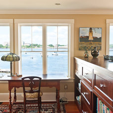 Traditional Home Office by amydutton Home