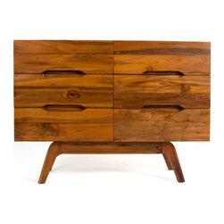 Teak Me Home - Bogart Six-Drawer Dresser - Solid Reclaimed Teak Wood - 100% Solid Reclaimed Teak