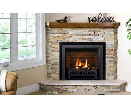 corner electric fireplace with entertainment center